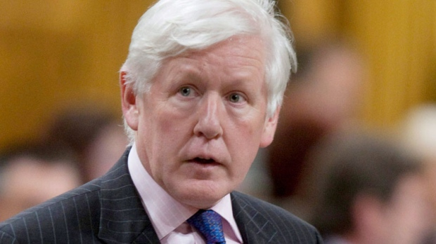 Liberal MP Bob Rae rises to question the government during Question Period in the House of Commons on Parliament Hill in Ottawa Thursday, June 17, 2010. (Adrian Wyld / THE CANADIAN PRESS)