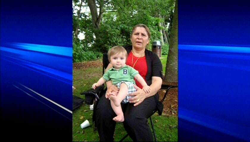The Surrey, B.C. grandmother who tried to save her young grandson from drowning in an outdoor pool has also died.