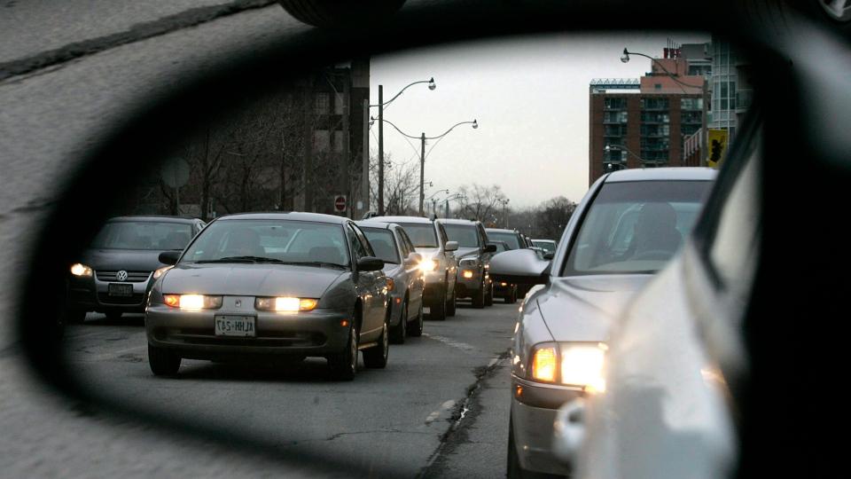 traffic congestion in Toronto