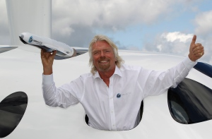 Sir Richard Branson, photographers, Virgin Galactic