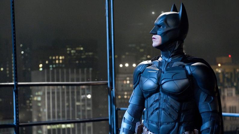 Christian Bale portrays Bruce Wayne and Batman in Warner Bros.'The Dark Knight Rises'