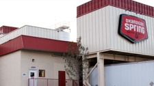 The Okanagan Springs brewery in Vernon, B.C., is seen in an image from the company's website.