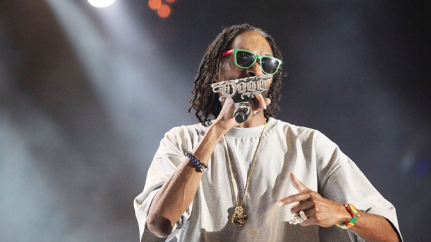 Snoop Dogg performs at the RBC Royal Bank Bluesfest in Ottawa on July 10, 2012.
