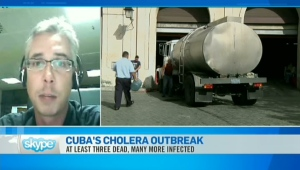 CTV News Channel: Cholera outbreak in Cuba