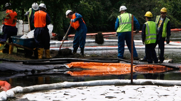 Enbridge, oil spill