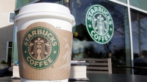 A Starbucks coffee shop is pictured. (AP Photo/Paul Sakuma)