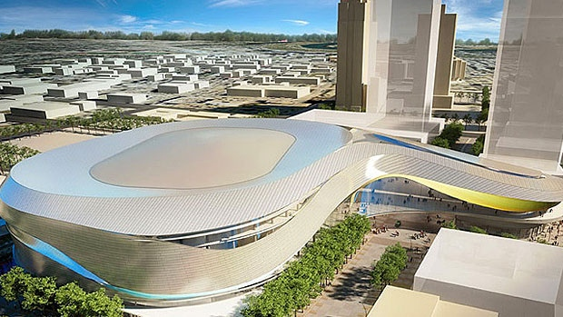 Proposed rendering of downtown Edmonton arena