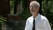 Kevin Slack is seen outside the courthouse in Kitchener, Ont. on Thursday, July 12, 2012.