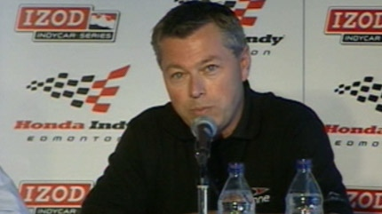 Francois Domontier believes Octane Racing will make the Edmonton Indy a profitable race.