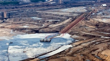 Oil sands facility, Fort McMurray, Alberta