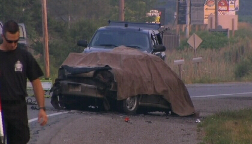 Three people were killed and five injured in a early-morning crash near St. Catherines