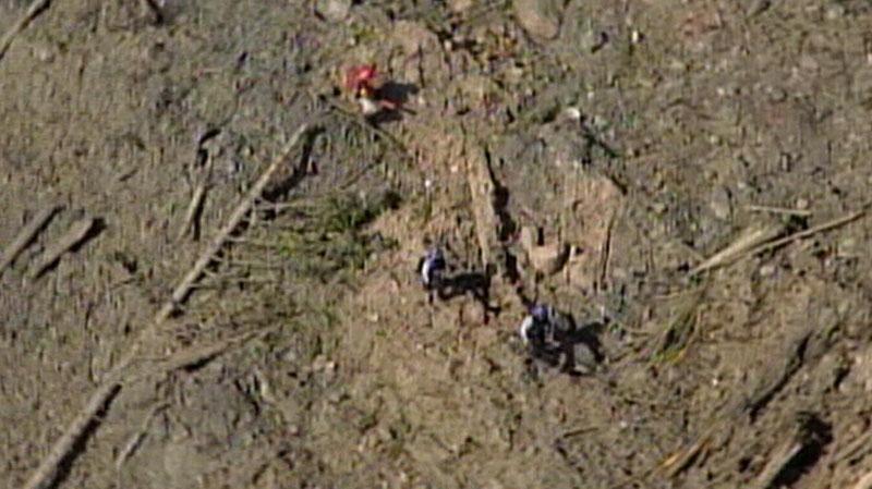 Johnsons Landing landslide