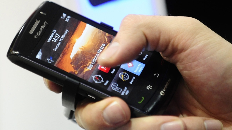 If passed, a new bill introduced in the U.S. Senate would ban all 'stalking' apps for smartphones. (AP / Manu Fernandez)