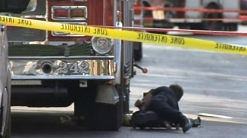A firefighter in Quebec has died of his injuries after being struck by a fire truck.