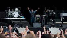 Bruce Springsteen at Hard Rock Calling Festival in London's Hyde Park