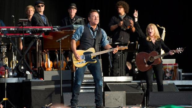 Bruce Springsteen Obama support