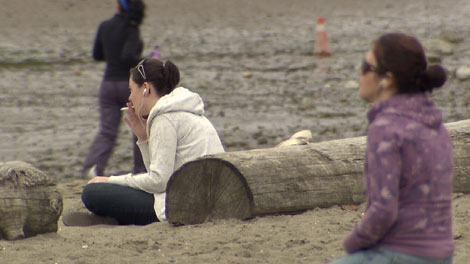 All Vancouver beaches and parks will be smoke free, starting July 28, 2010.