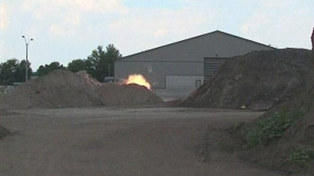 Barrie explosives,