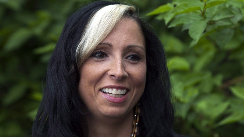 Pam Palmater, a Mi'kmaw lawyer, author, professor and political pundit, from New Brunswick, is seen in Dartmouth, N.S. on Tuesday, June 5, 2012.  (THE CANADIAN PRESS/Andrew Vaughan)