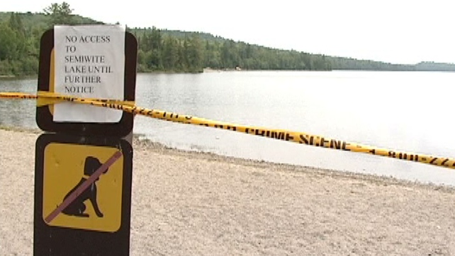 Remains were found in a northern Ontario Provincial Park.