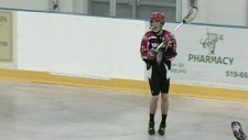 The Wilmot Wild play the Halton Hills Bulldogs in OLA playoff action on Monday, July 16, 2012.