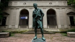 This June 14, 2010 file photo shows the city-owned Boy Scouts headquarters in Philadelphia.  (AP/Matt Rourke, File)