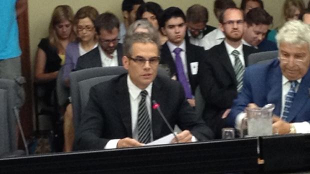 Former top Ornge executive Dr. Chris Mazza