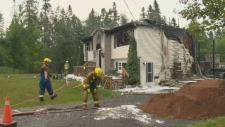 Elmsdale house fire