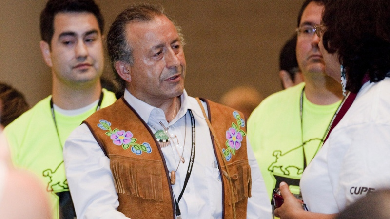 Bill Erasmus at the AFN AGA in Toronto on Wednesday, July 18, 2012. (THE CANADIAN PRESS/Michelle Siu)