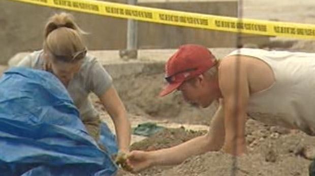 St. Boniface excavation