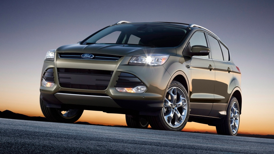 A 2013 Ford Escape is seen in this undated image made available by the Ford Motor Co.