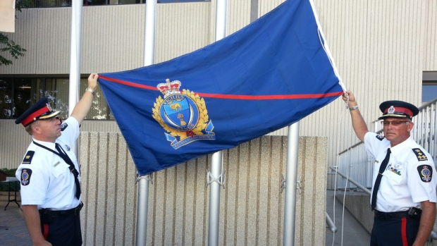 Regina police flag