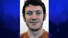 Shooting suspect James Holmes is seen in this image made available by the University of Colorado, Denver.