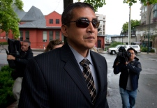 Former RCMP Cpl. Benjamin (Monty) Robinson leaves B.C. Supreme Court