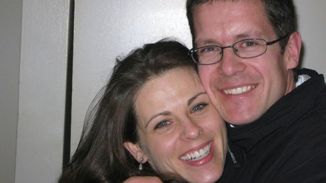 Pilot Brian Tilley, who was killed in a crash on July 31, 2010, is seen with his wife Annette in this undated photo. (CTV)