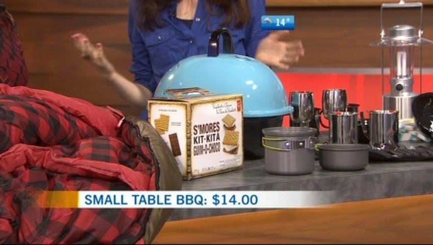 CTV British Columbia Morning Live: Camping on a budget