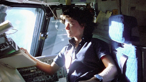 Sally Ride, NASA
