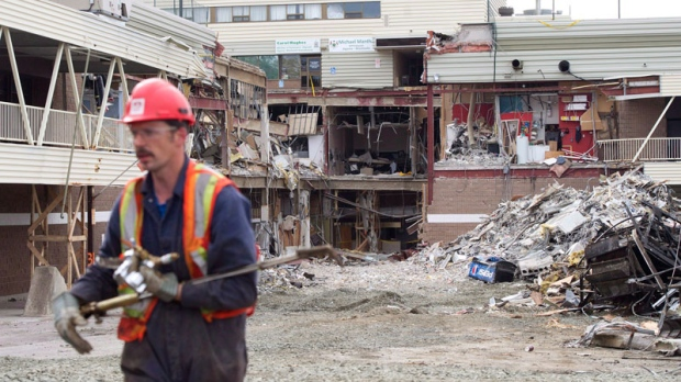 Elliot Lake, mall collapse