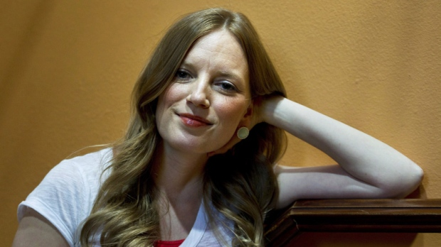 Actor-director Sarah Polley poses in Toronto on June 14, 2012.