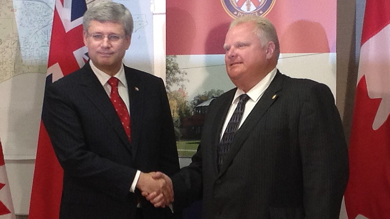 Rob Ford Stephen Harper