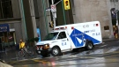 An ambulance appears in this undated file photo. (Maurice Cacho / CTV Toronto)