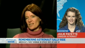 CTV News Channel: Sally Ride's legacy