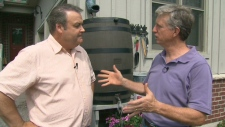 Mark Cullen shows Canada AM how to hydrate your garden this summer, Wednesday, July 25, 2012.