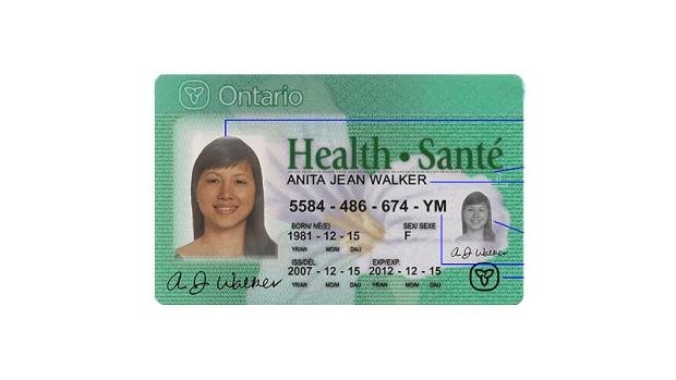Service Ontario Kitchener Health Card