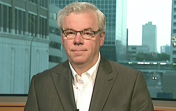 Manitoba Premier Greg Selinger speaks on Canada AM from CTV's studios in Winnipeg, Man. on Thursday, Aug. 5, 2010.