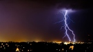 MyNews contributor Colin Carmichael sent in this image of lightning during a storm in Cambridge, Ont. Thursday, July 26, 2012.