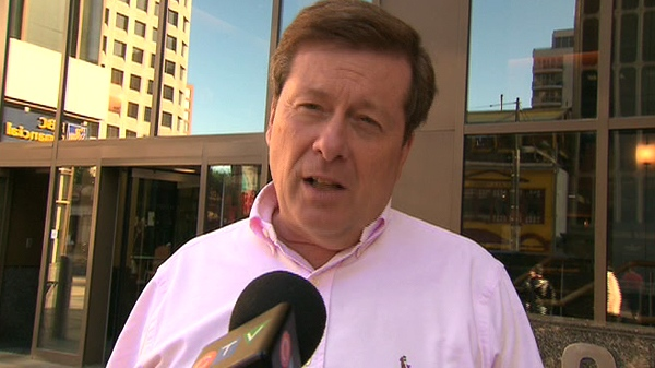 John Tory confirms to CTV Toronto that he will not seek Toronto's top job.