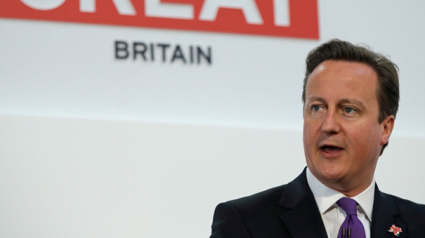 Britain's David Cameron to give speech on EU relations