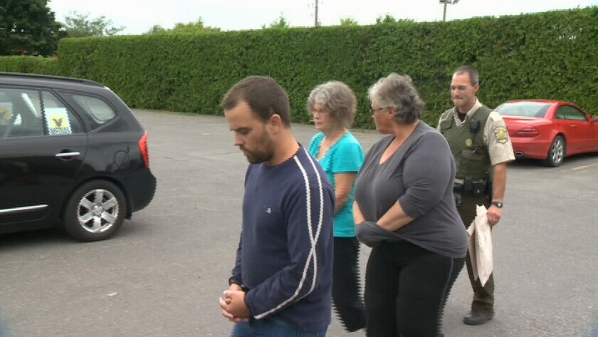The Surete du Quebec arrested Gabrielle Frechette, 53, and two associates, Ginette Duclos, 63, and Gerald Fontaine in connection with Lavigne's death.