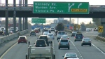 The provincial expansion project of Highway 401 will ease gridlock. (file photo)